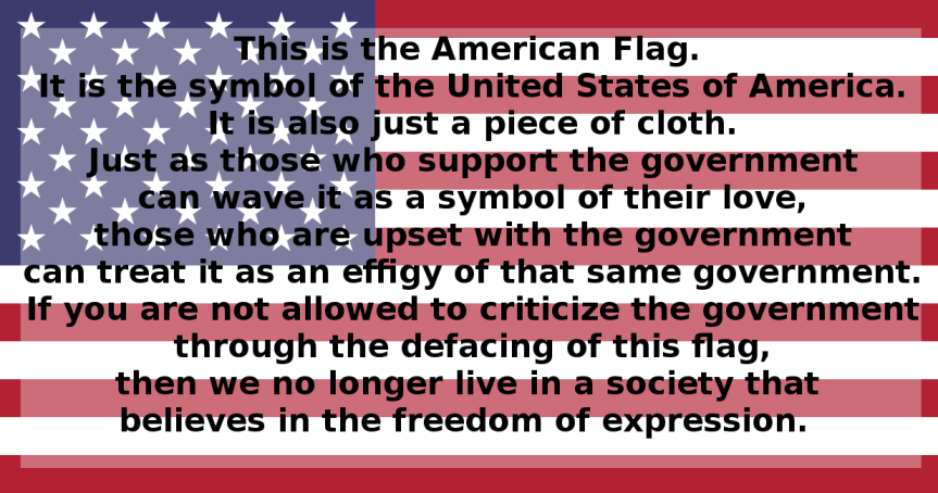 The Hypocrisy of The U.S.National Anthem and Flag!