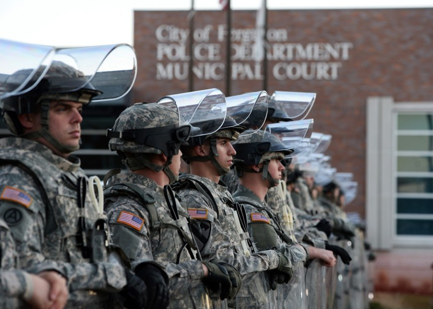 US Army Drills to Battle Political Dissent and Fight Crime in'Megacities'