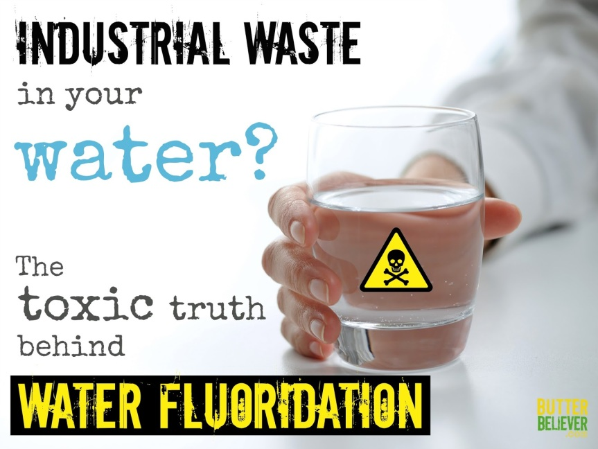 Why did the U.S.Government Start Fluoridation of our water Supply!